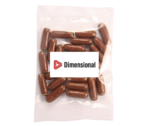 Picture of Bullets - Milk Chocolate Licorice 50g