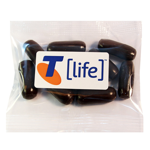 Picture of Bullets - Dark Choc Licorice  30g