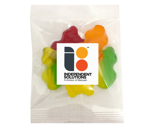 Picture of Fruity Frogs  50g bags