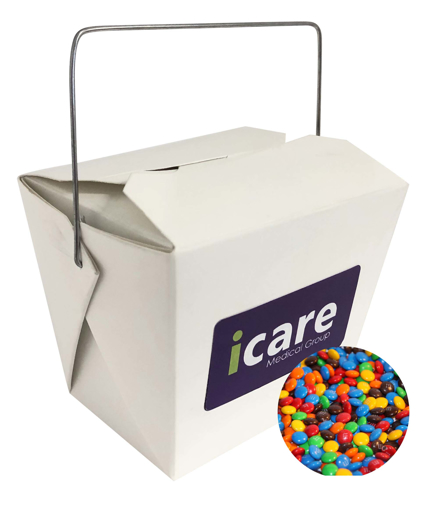 Picture of Noodle Box with 75g Mini M&Ms