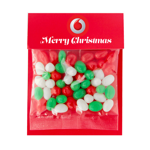 Picture of Billboard Candy Card 50g Christmas Jelly Beans