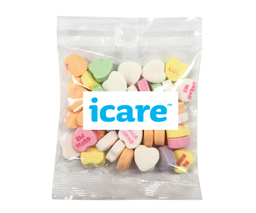 Picture of Mini Love heart candy 30g