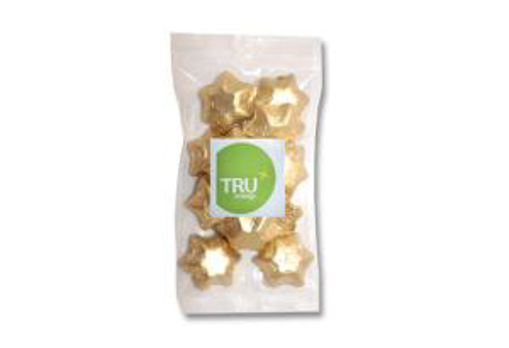 Picture of Foiled Stars 100g Branded