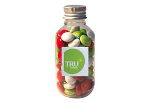 Picture of No Neck jar with Christmas Choc with logo sticker