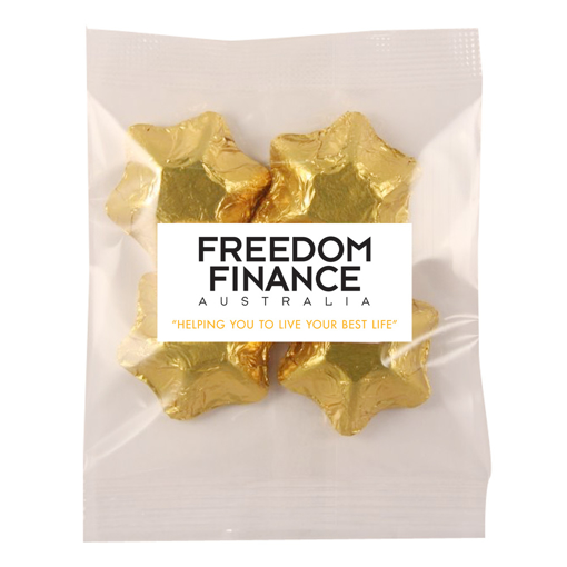 Picture of Custom Coloured foiled Stars 30g