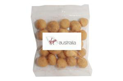 Picture of Wasabi Macadamias in 50g Bag