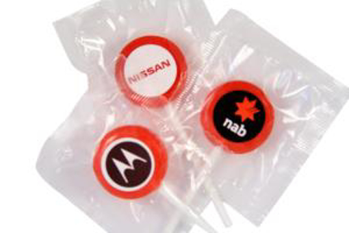 Picture of Lollipops - Red 27mm