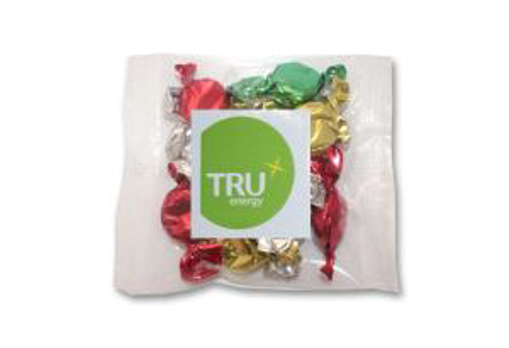 Picture of Christmas Toffees 50g Cello Bag