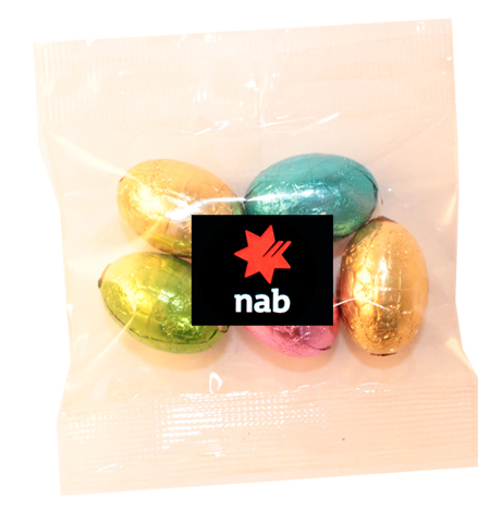 Picture of Milk Chocolate egg bag 30g