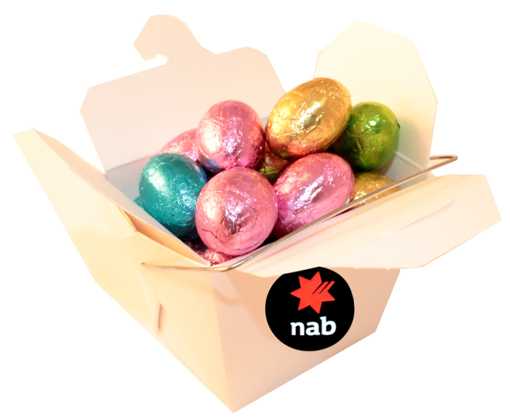 Picture of Noodle Box with 5 Lindt balls
