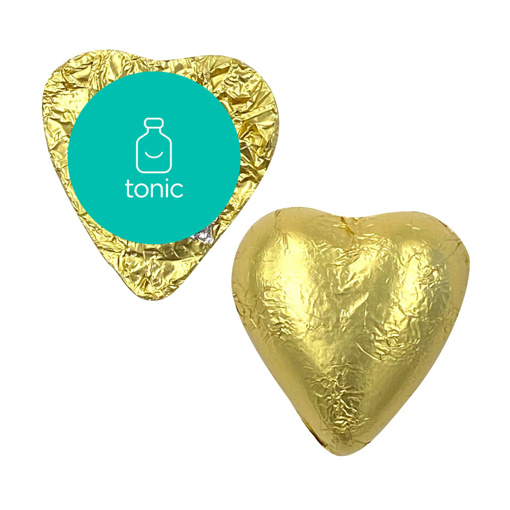 Picture of Custom Coloured foiled Hearts