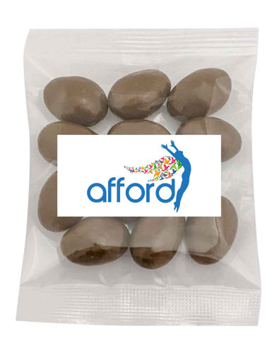 Picture of MILK CHOCOLATE ALMONDS WITH CARAMEL CRUNCH